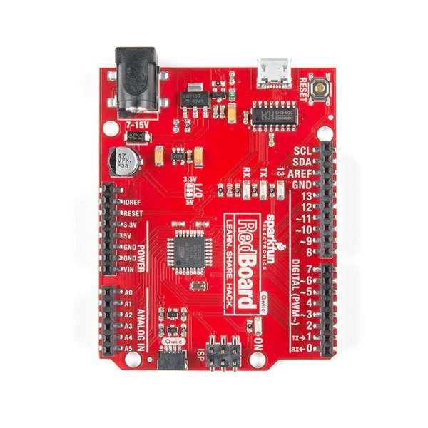 Placa dezvoltare SparkFun RedBoard cu Qwiic 3