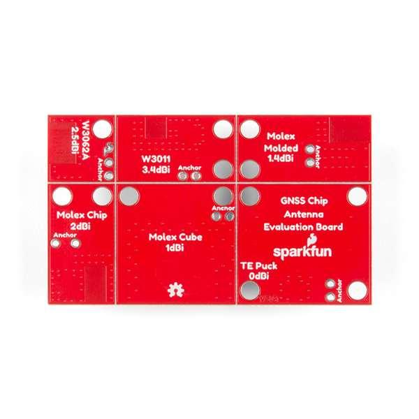 Placa evaluare cu 6 antene SparkFun [2]