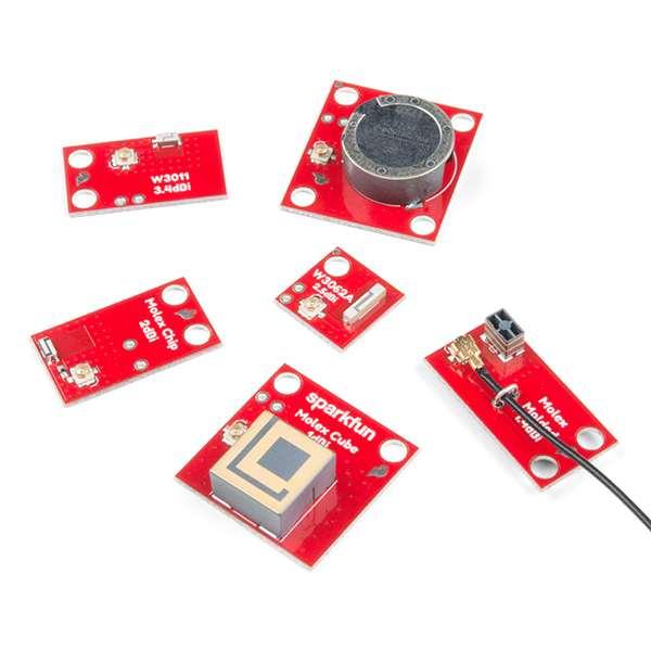 Placa evaluare cu 6 antene SparkFun [4]