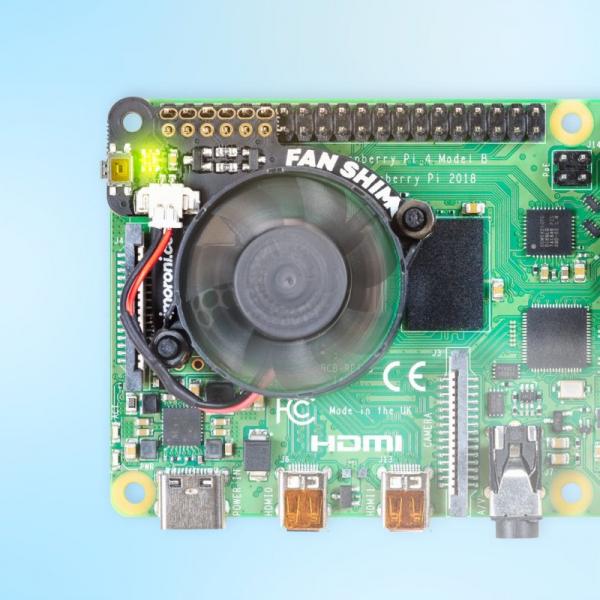 Ventilator controlabil Pimoroni Fan SHIM pentru Raspberry Pi 4 0