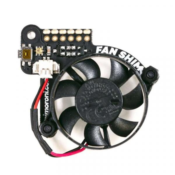 Ventilator controlabil Pimoroni Fan SHIM pentru Raspberry Pi 4 1
