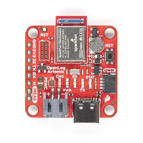Placa inregistrare date SparkFun OpenLog Artemis 1