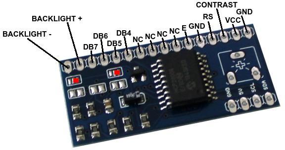 Placa LCD I2C 2
