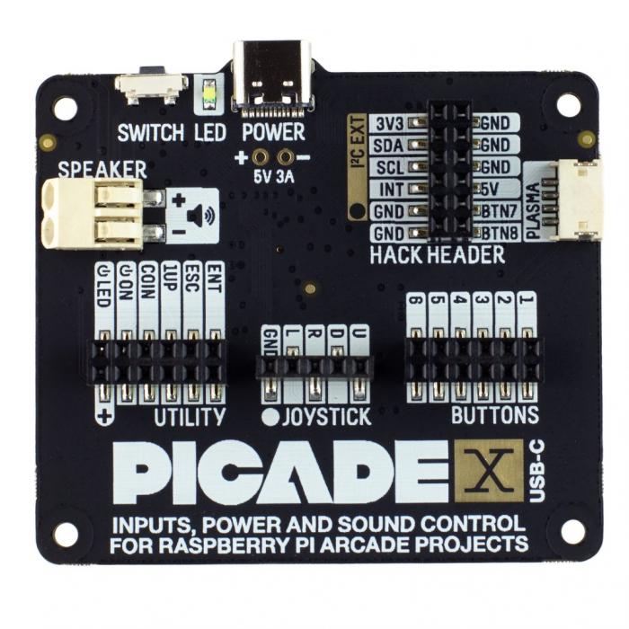 Placa Pimoroni Picade X HAT USB-C [2]