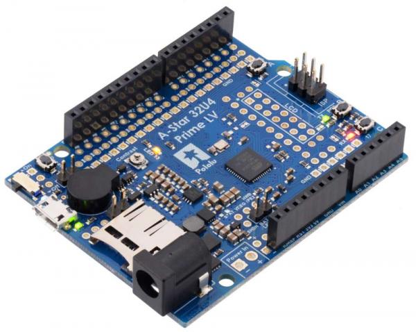 Placa Pololu A-Star 32U4 Prime LV cu microSD [0]