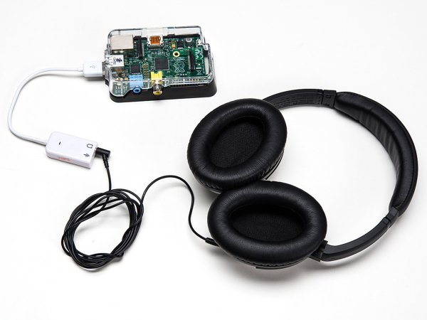 Placa USB Audio pentru Raspberry Pi 1