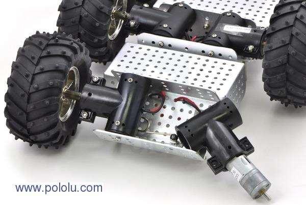 Motor metalic cu cutie de viteze 25Dx52L mm 34:1 HP 1