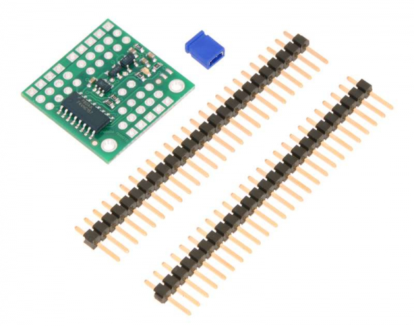 Pololu 4-Channel RC Servo Multiplexer (Partial Kit) [1]
