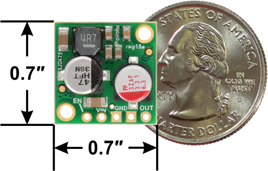 Regulator 5V, 2.5A Step-Down D24V25F5 2