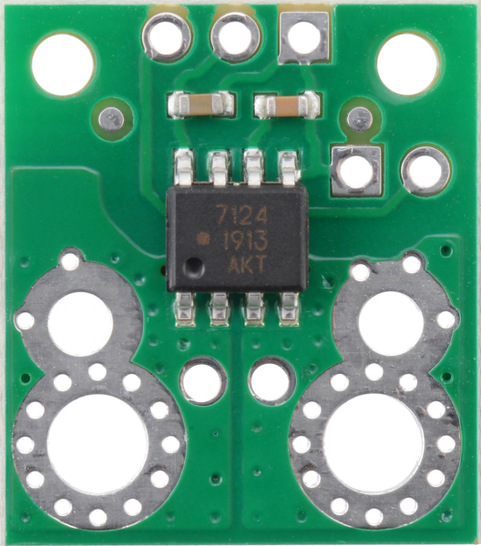 Pololu ACHS-7124 -40A/+40A breakout senzor curent 4