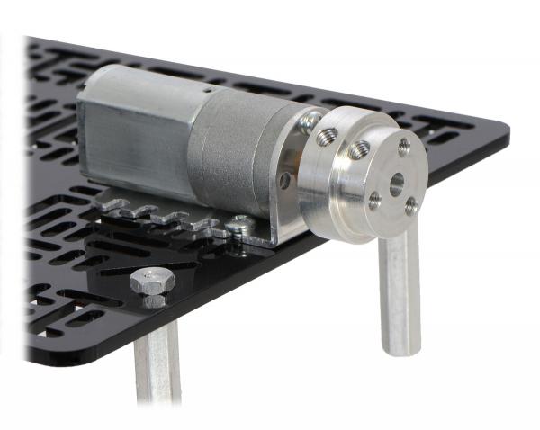 Conector roata (trotinete,role)  cu ax  4mm [3]