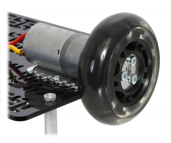 Conector roata (trotinete,role)  cu ax  4mm [2]