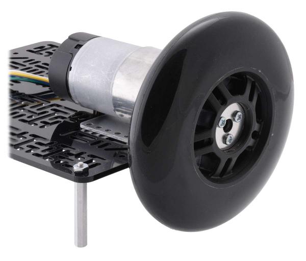 Conector roata (trotinete,role) cu ax 6mm 3