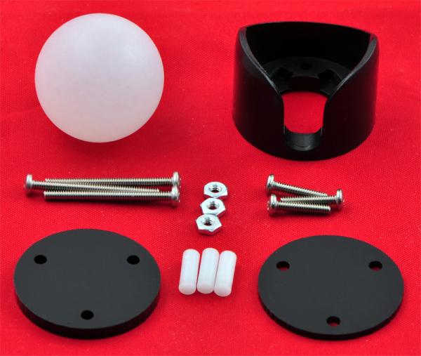 Ball Caster 25.4 mm plastic 1