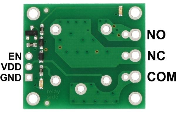 Placa releu SPDT releu 12VDC 1