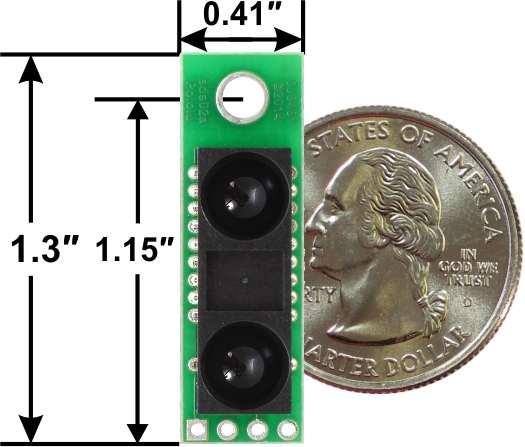 Senzor de distanta Sharp GP2Y0A60SZLF 10-150cm, 5V 2