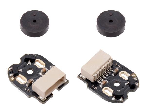 Pololu codificatori cuadratura, conector lateral, 12CPR, 2.7 - 18V 0