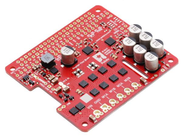 Pololu Dual G2 High-Power Motor Driver 18v18 pentru Raspberry Pi (Partial Kit) [2]