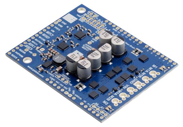 Pololu Dual G2 High-Power Motor Driver 18v18 Shield pentru Arduino 1