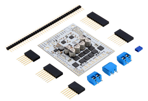 Pololu Dual G2 High-Power Motor Driver 24v18 Shield pentru Arduino 0