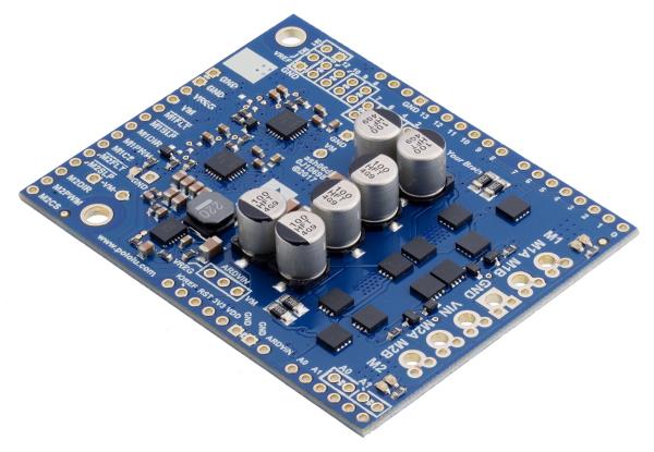 Pololu Dual G2 High-Power Motor Driver 24v14 Shield pentru Arduino [1]