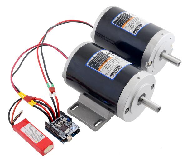 Pololu Dual G2 High-Power Motor Driver 24v14 Shield pentru Arduino [2]