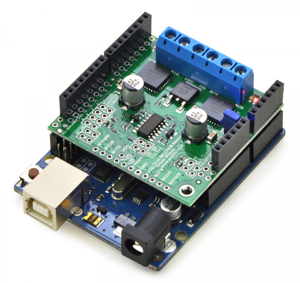 Dual MC33926 Motor Driver Shield 1