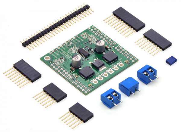 Dual MC33926 Motor Driver Shield 0