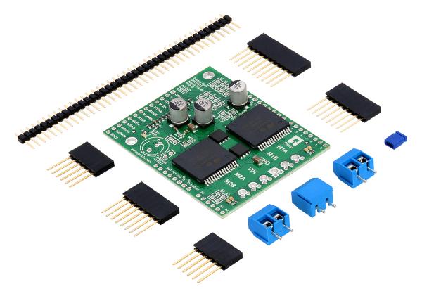 Driver motor dual VNH5019 Shield Arduino 2