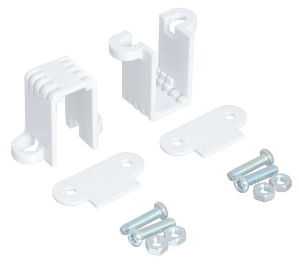 Mini Plastic Gearmotor Bracket Pair - Tall 0