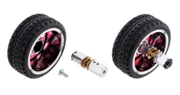 Pololu motor electric micro metal 15:1 HPCB 6V 2