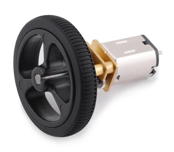 Pololu motor electric micro metal 50:1 HPCB 6V cu ax extins [2]