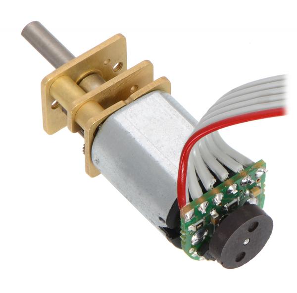 Pololu motor electric micro metal 50:1 HPCB 6V cu ax extins [3]
