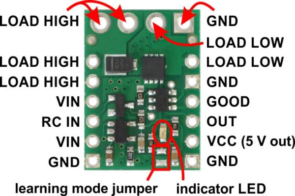 Comutator RC  cu MOSFET 4