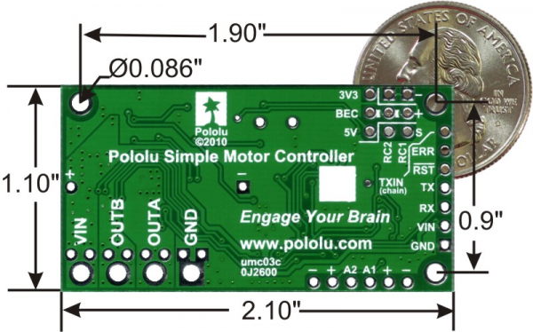 USB Driver Motor 18V25 1
