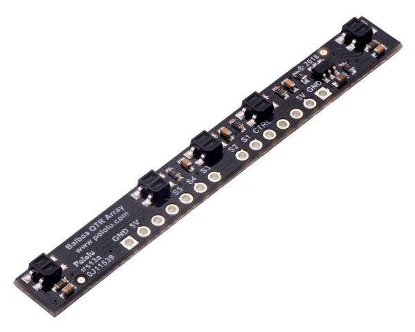 Pololu tablou senzori reflectanta cu 5 canale pentru Balboa 32U4 [1]
