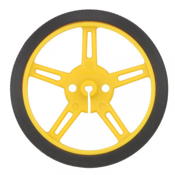 Roti Pololu Wheel 60×8mm Perechea - Galbene 1