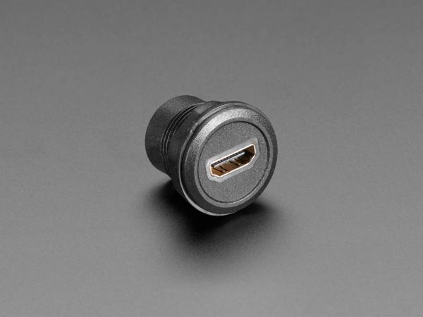 Priza HDMI rotunda pentru panouri [1]