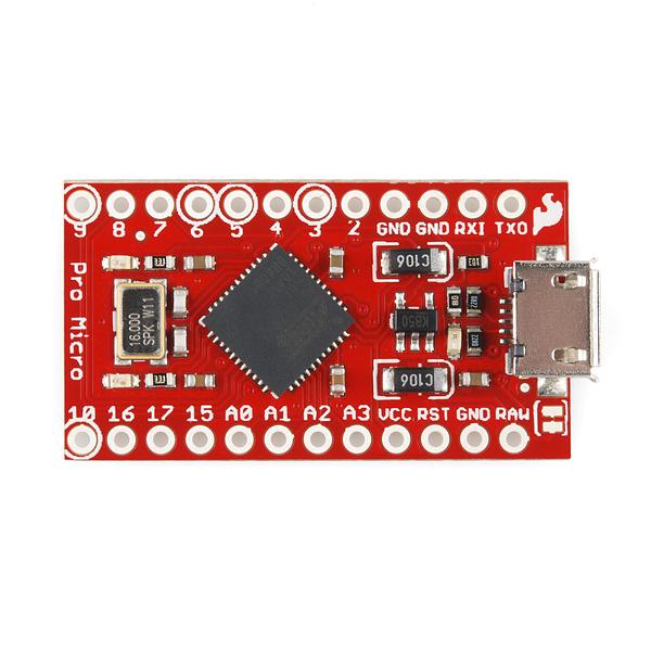 Pro Micro 5V/16MHz - ATMega 32U4  1