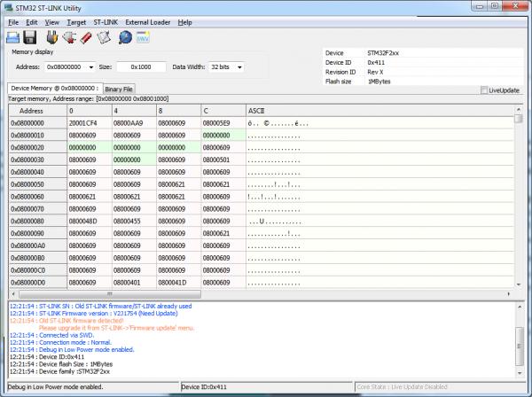 Programator ST-Link STM8/STM32 v2 4