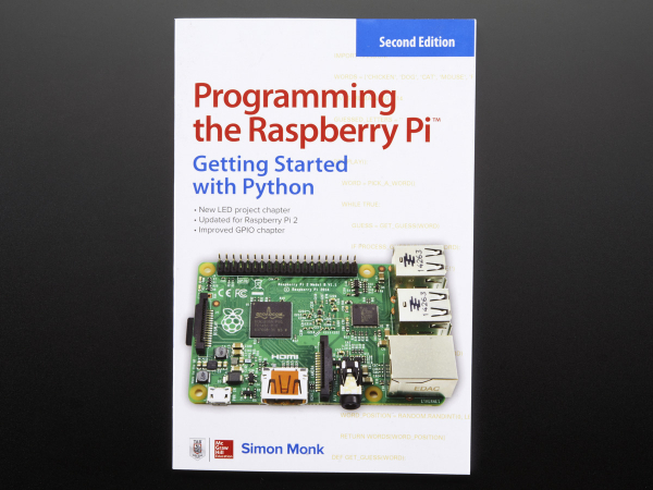 RETRAS - Programming the Raspberry Pi: Getting Started with Python - Second Edition 0