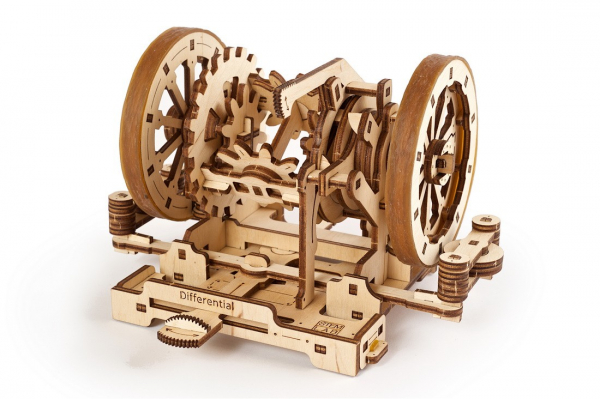Puzzle mecanic Ugears Diferentialul 2