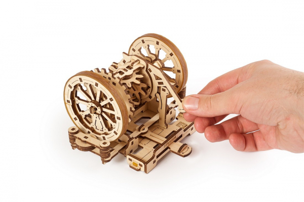 Puzzle mecanic Ugears Diferentialul 8
