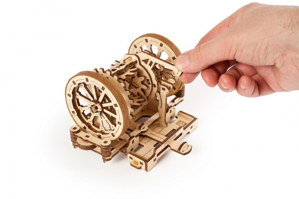 Puzzle mecanic Ugears Diferentialul 7