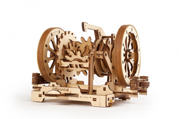 Puzzle mecanic Ugears Diferentialul 1