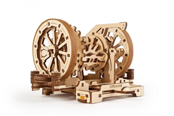 Puzzle mecanic Ugears Diferentialul 5