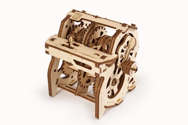 Puzzle mecanic Ugears Cutia de viteze 1