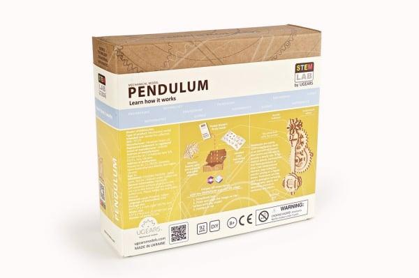 Puzzle mecanic Ugears Pendul 10