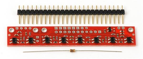 Bara senzori linie analogic QTR-8A 3