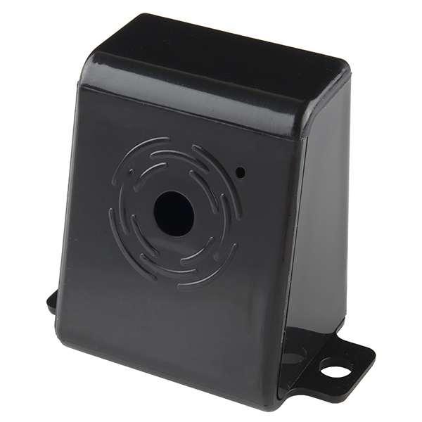 Carcasa camera Raspberry Pi - negru, plastic [0]